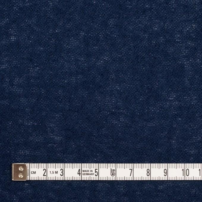 ウール×無地(ネイビー)×ガーゼ イメージ4