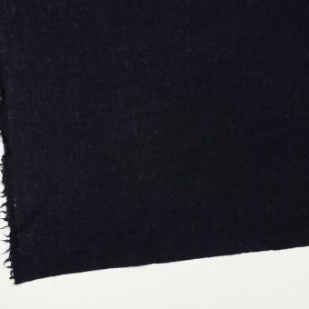 ウール×無地(ブラック)×ガーゼ サムネイル2