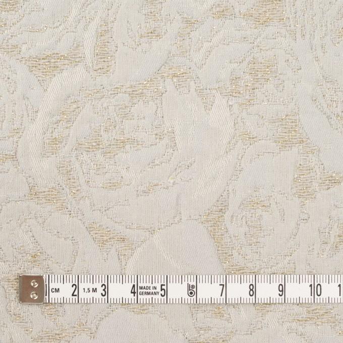 ポリエステル&アクリル混×フラワー(グレイッシュベージュ)×フクレジャガード_全2色 イメージ4