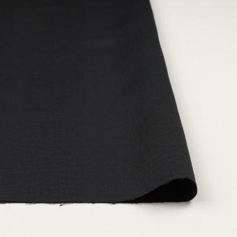 ポリエステル×クロコ(ブラック)×二重織ジャガード サムネイル3