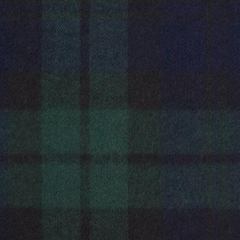 コットン×チェック(ブラックウォッチ)×ビエラ サムネイル1
