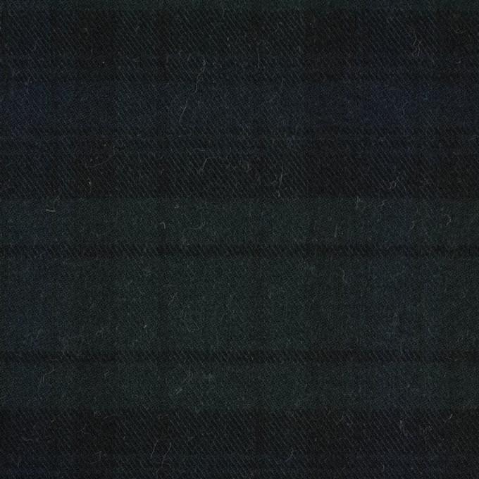 コットン&ポリエステル×チェック(ブラックウォッチ)×ビエラ イメージ1