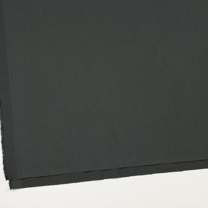 コットン&ポリウレタン×無地(スレートグレー)×サージストレッチ_全3色_イタリア製 イメージ2