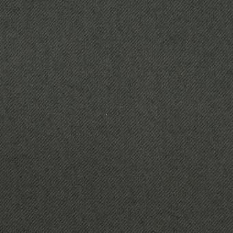 コットン&ポリウレタン×無地(スレートグレー)×サージストレッチ_全3色_イタリア製