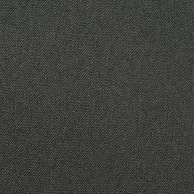 コットン&ポリウレタン×無地(スレートグレー)×サージストレッチ_全3色_イタリア製 イメージ1