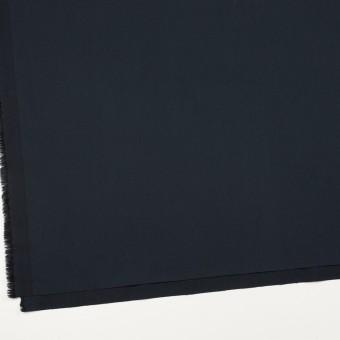 コットン&ポリウレタン×無地(ダークネイビー)×サージストレッチ_全3色_イタリア製 サムネイル2