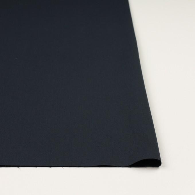 コットン&ポリウレタン×無地(ダークネイビー)×サージストレッチ_全3色_イタリア製 イメージ3