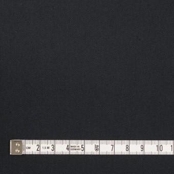 コットン&ポリウレタン×無地(ダークネイビー)×サージストレッチ_全3色_イタリア製 サムネイル4