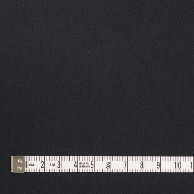 コットン&ポリウレタン×無地(ダークネイビー)×サージストレッチ_全3色_イタリア製 イメージ4