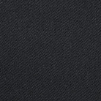 コットン&ポリウレタン×無地(ダークネイビー)×サージストレッチ_全3色_イタリア製