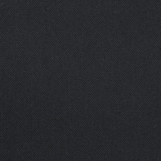 コットン&ポリウレタン×無地(ダークネイビー)×サージストレッチ_全3色_イタリア製 イメージ1