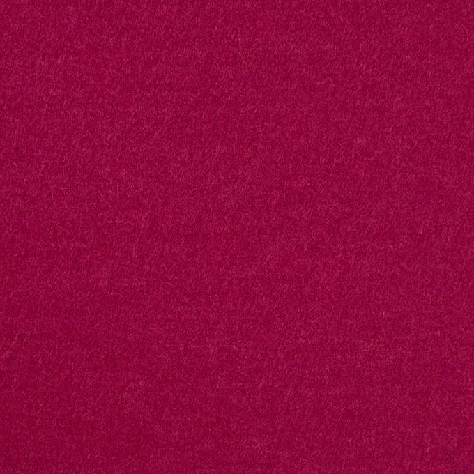ウール×無地(チェリーピンク)×圧縮ニット イメージ1