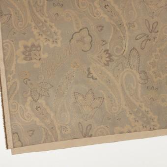 ポリエステル×ペイズリー(カーキ&ゴールド)×スエードかわり織 サムネイル2