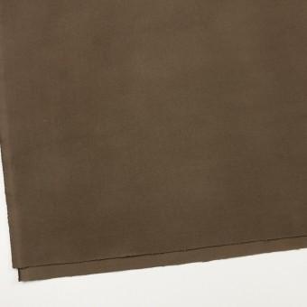 コットン&ポリウレタン×無地(カーキブラウン)×モールスキン・ストレッチ_全3色 サムネイル2