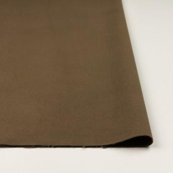 コットン&ポリウレタン×無地(カーキブラウン)×モールスキン・ストレッチ_全3色 サムネイル3
