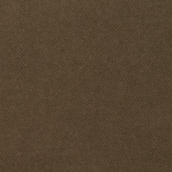 コットン&ポリウレタン×無地(カーキブラウン)×モールスキン・ストレッチ_全3色 サムネイル1