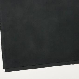 コットン&ポリウレタン×無地(チャコールブラック)×モールスキン・ストレッチ_全3色 サムネイル2