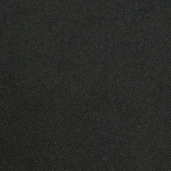 コットン&ポリウレタン×無地(チャコールブラック)×モールスキン・ストレッチ_全3色