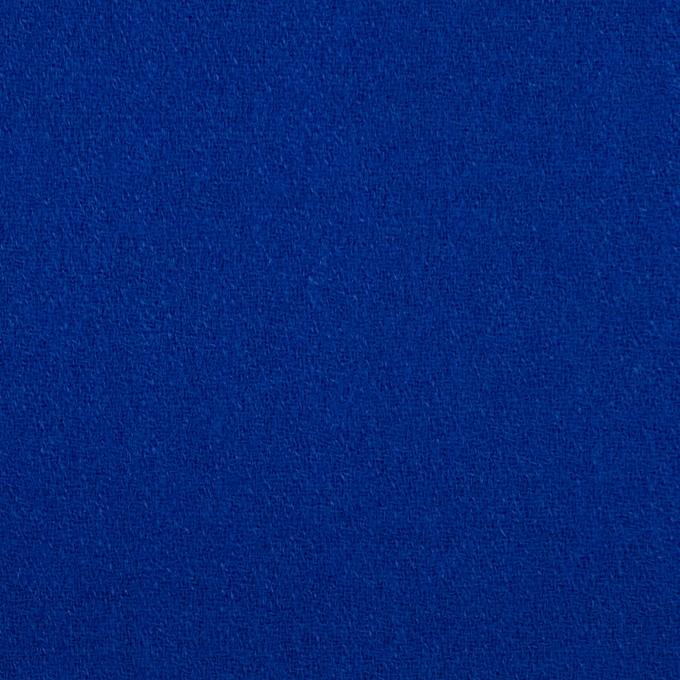 ウール×無地(マリンブルー)×ジョーゼット イメージ1
