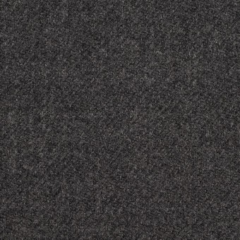ウール×無地(チャコールグレー)×サキソニー サムネイル1