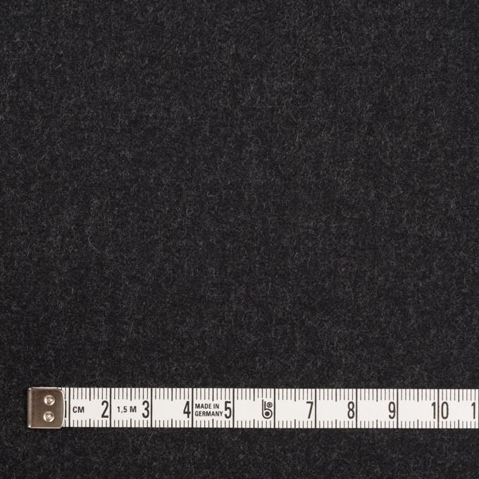 ウール&レーヨン混×無地(チャコール)×サージストレッチ イメージ4