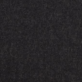 ウール&レーヨン混×無地(チャコール)×サージストレッチ
