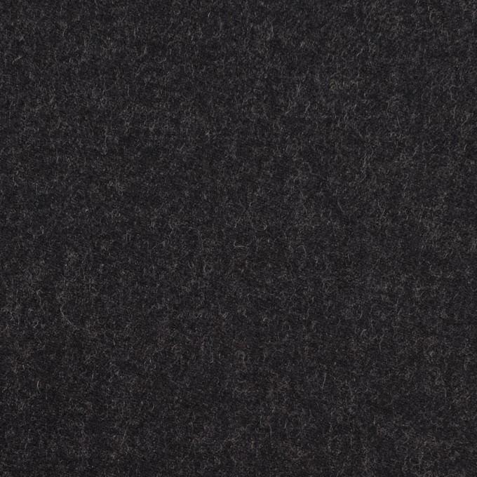 ウール&レーヨン混×無地(チャコール)×サージストレッチ イメージ1