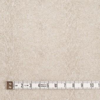 ウール&ナイロン×無地(グレイッシュベージュ)×ジャガードニット サムネイル4