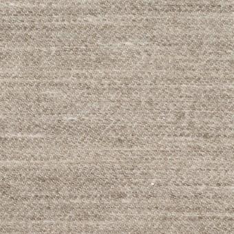ウール&リネン×ミックス(ベージュグレー)×厚サージ_全2色