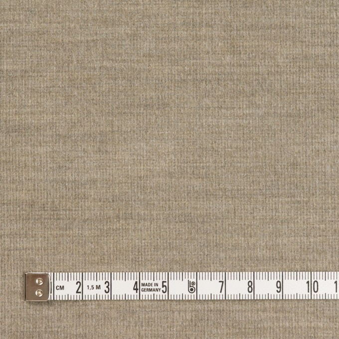 コットン&ポリウレタン×無地(ベージュグレー)×細コーデュロイ・ストレッチ イメージ4