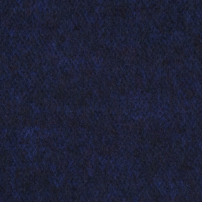 ウール&ポリエステル×無地(マリンブルー)×サージ イメージ1
