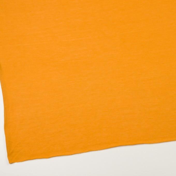 モダール&アンゴラ×無地(マンダリンオレンジ)×天竺ニット_全5色 イメージ2