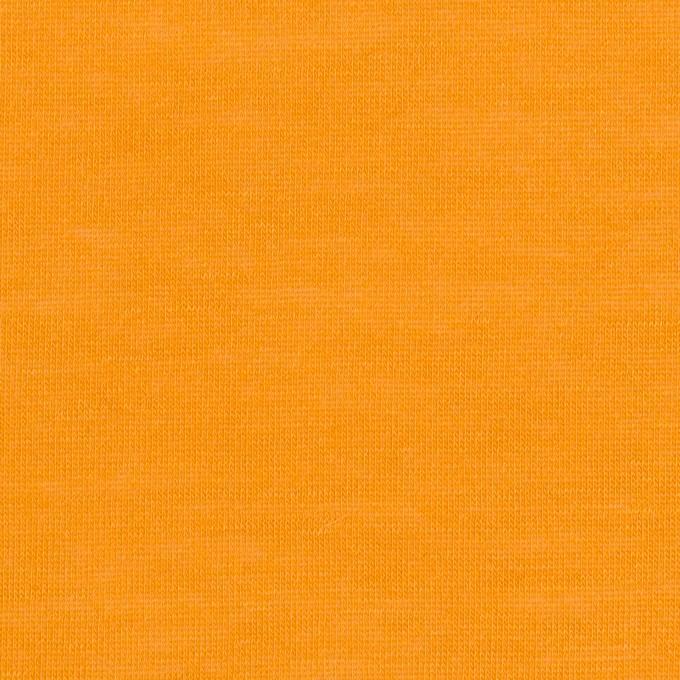 モダール&アンゴラ×無地(マンダリンオレンジ)×天竺ニット_全5色 イメージ1