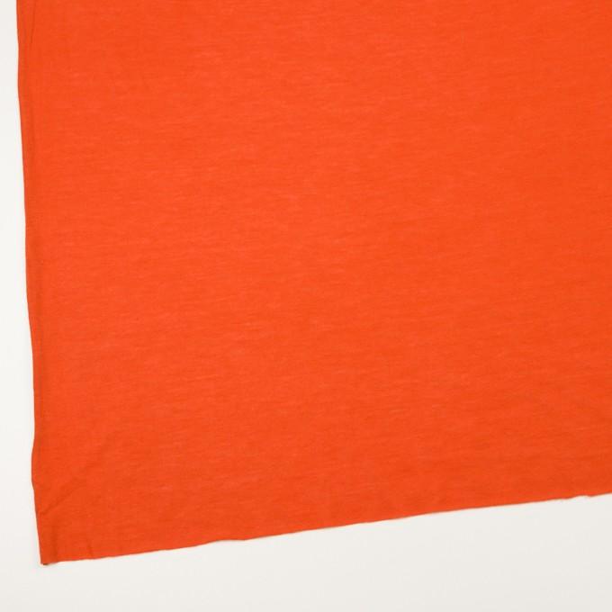 モダール&アンゴラ×無地(バレンシアオレンジ)×天竺ニット_全5色 イメージ2
