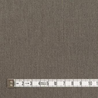 コットン&ナイロン混×無地(アッシュブラウン)×ヘリンボーン・ストレッチ_スイス製 サムネイル4