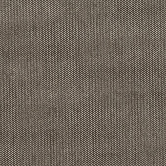 コットン&ナイロン混×無地(アッシュブラウン)×ヘリンボーン・ストレッチ_スイス製
