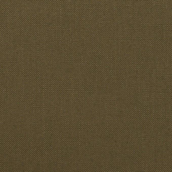 コットン×無地(カーキ)×キャンバス イメージ1