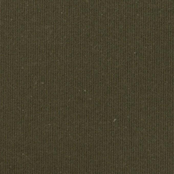 コットン×無地(アッシュカーキグリーン)×グログラン イメージ1