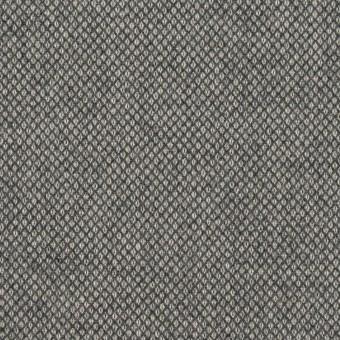 コットン&ポリウレタン×無地(グレー)×バーズアイ・ストレッチ_全2色