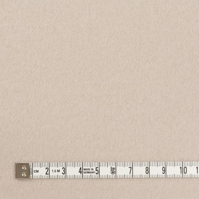 ウール×無地(オイスター)×ソフトメルトン イメージ4