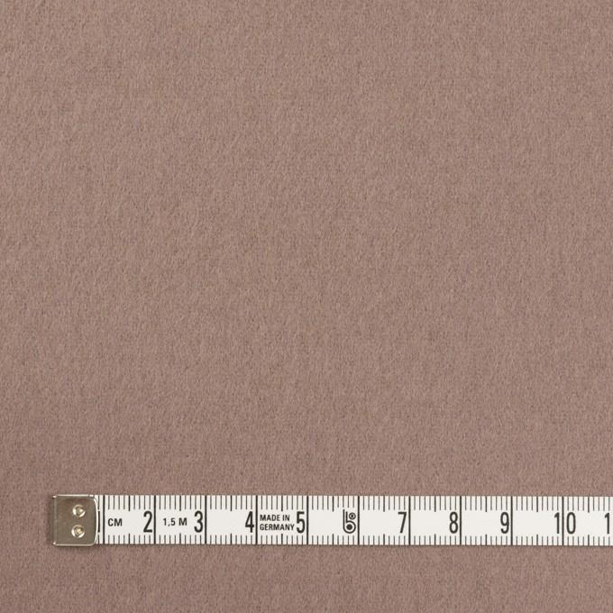 ウール&ナイロン×無地(ローズグレー)×フラノ(フランネル) イメージ4