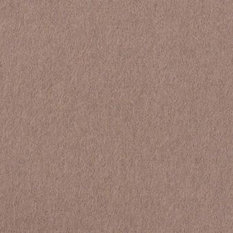 ウール&ナイロン×無地(ローズグレー)×フラノ(フランネル)