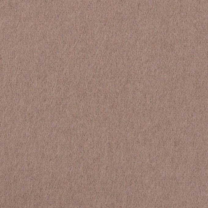 ウール&ナイロン×無地(ローズグレー)×フラノ(フランネル) イメージ1