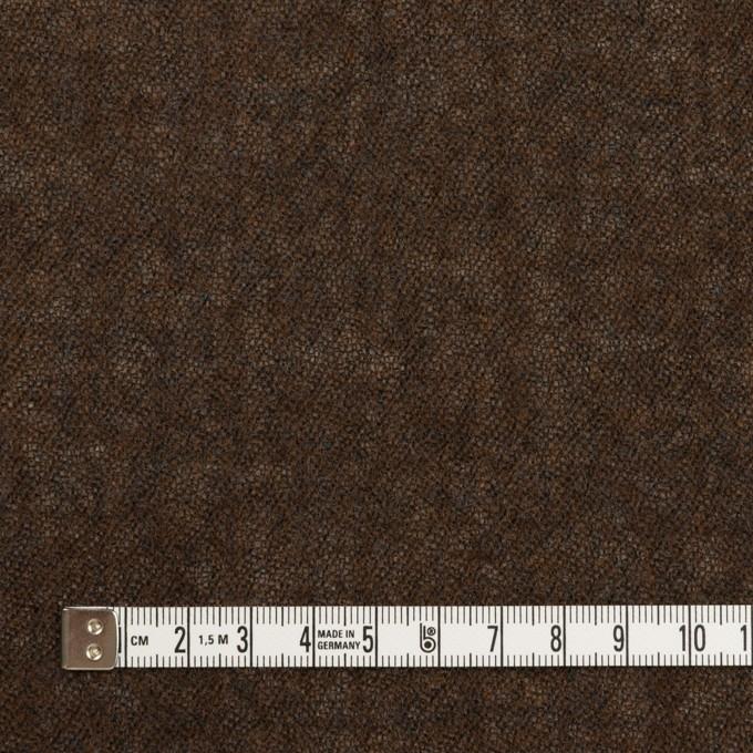 ウール×無地(ブラウン)×ガーゼ_全2色 イメージ4