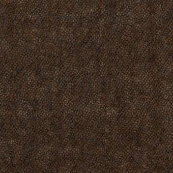 ウール×無地(ブラウン)×ガーゼ_全2色
