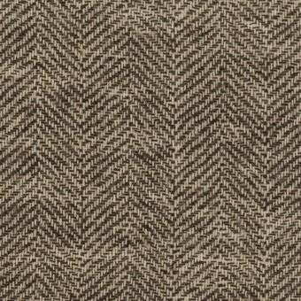 ウール×ミックス(ブラウン)×ヘリンボーン・ガーゼ_全2色