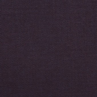 コットン×無地(パープル)×チノクロス_全2色_イタリア製