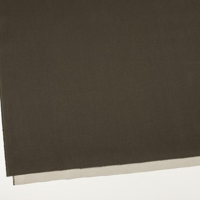 コットン×無地(カーキグリーン)×チノクロス_全2色_イタリア製 イメージ2