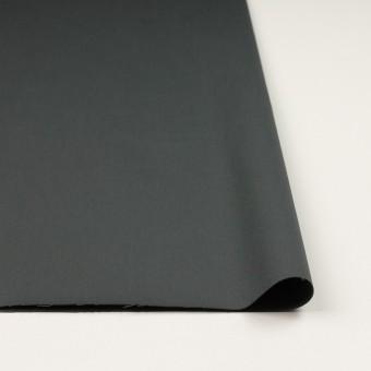 コットン&ポリウレタン×無地(スレートグレー)×サテンストレッチ_全2色_イタリア製 サムネイル3