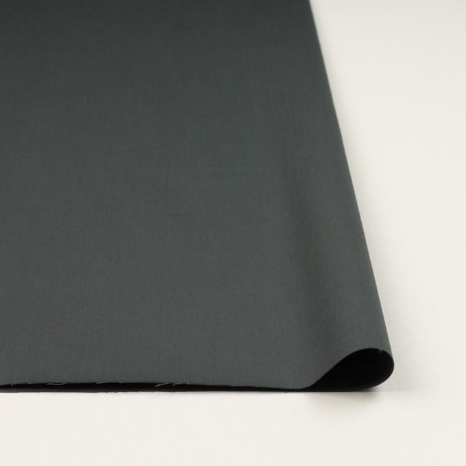 コットン&ポリウレタン×無地(スレートグレー)×サテンストレッチ_全2色_イタリア製 イメージ3